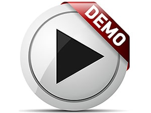 Play Demo Button Image for to illustrate our Digital Marketing Services Free Demo Image Selection within our Mega Menu