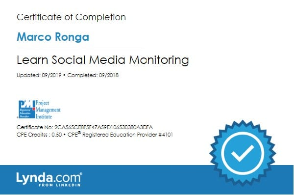 Learning Social Media Monitoring