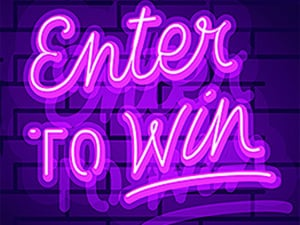 Enter to win in Newon Lights for the Register to win Mega Menu Selection to Win for Mega Men