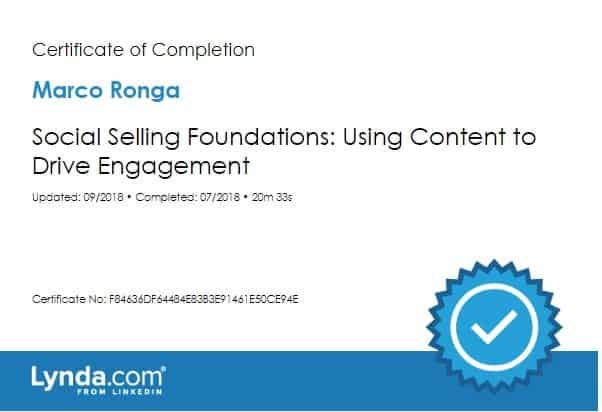 Social Selling Foundations - Using Content to Drive Engagement