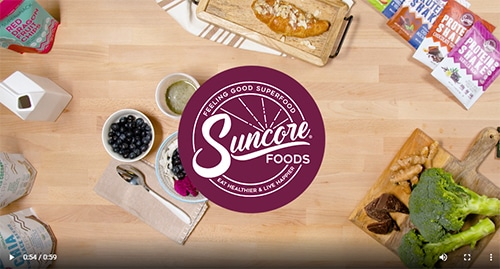 Suncore Foods-Client Video- Your Media Services
