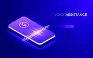 Voice Assistance Device image used to illustrate how how voice search engines and how they crawl and indexing and ranking