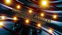 Your Media Service About Us Agency Image with camera and lights illustrating a media company for aour Mega Menu Image Selection
