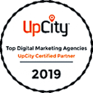 top digital marketing agencies UpCity Certified Partner your media services.Transparent 175px
